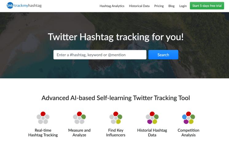 Get Twitter Hashtag data